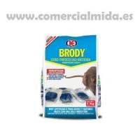 Brody Cebo Fresco, Raticida contra Ratas y Ratones - 1Kg