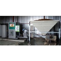 Caldera de Biomasa Industrial de 250 KW