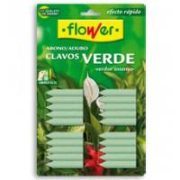 Abono Clavos Verdes Flower, 20 U.