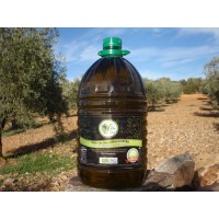 Aceite de Oliva Virgen Extra Ecológico. Garrafa 5 Litros Plástico