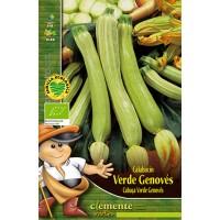 Calabacin Verde Genoves. Semillas Ecológicas 6Gr