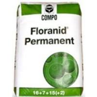 Compo Floranid Permanent Abono NPK (Mg) 16-7-15 (2-22) con Nitrógeno de Liberación Lenta 25KG