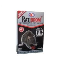 Ratibrom 2 Cebo Fresco Súper Concentrado Especial contra Ratas 150 Gr