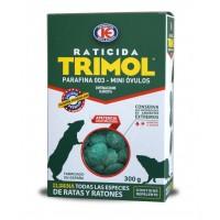 Raticida Trimol Mini Óvulos Parafinados en Bloques de 4/5 Gr - Estuche 300 Gr
