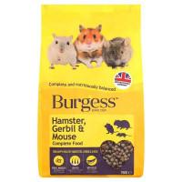 Burgess Gerbo,hamster&ratón Complet 750Gr
