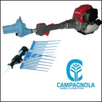 Vareador de Aceitunas Campagnola Alice con Pertiga Telescópica R4 en Aluminio 185-270 Cm y Power 12 ECO Alice.