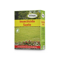 Vithal Garden Insecticida Suelo, Microgranulado, 500 Gr (Incluye Guantes)