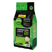Abono Césped Organic Complet 2 Meses Liberación Lenta Flower - 2 Kg