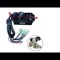 Avr Lihua de Repuesto para  Generadores y Grupos Electrogenos. AVR Generador Trifásico de 3800 a 7000 W