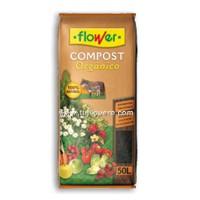 Compost Orgánico Flower, 50 Litros