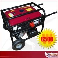 Generador Electrico Berlan 6500W - Gasolina - Arranque Electrico