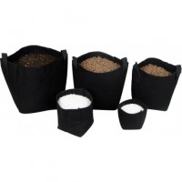 Maceta Tex Pot Negra 50 L