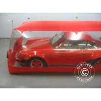 Carcoon 4,7X2 M Traslúcido/rojo, Interior