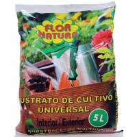 Sustrato Universal para Plantas Interior/exterior. 5 L