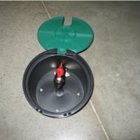 Arqueta Rain Circular Pequeña 17 Cm C/válvula