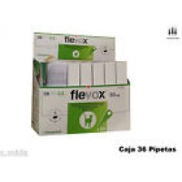 Caja 36 Pipetas Flevox 0,50 Ml Pulgas Garrapatas Fipronilo Gato Pipette Pipetas