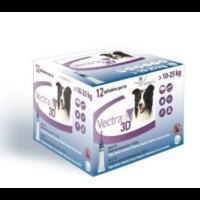CEVA Pipetas Antiparasitarias Vectra 3D Perros Medianos 10-25 Kg, 12 Pipetas