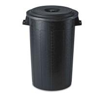 Cubo de Basura para Exterior, 100 L