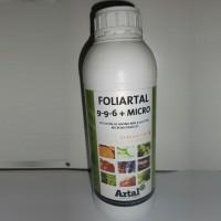Foliartal - Abono Foliar 9-9-6 + Micronutrientes