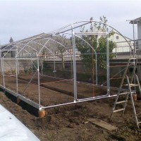 Invernadero Tipo Familiar. 14M2 (3.5 Ancho X 4m de Largo)Hierro Galvanizado 32Mm