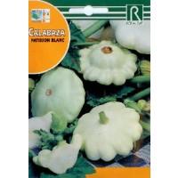 Semillas Calabaza Patisson Blanc 5Grs