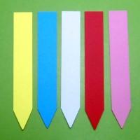 100 Etiquetas Pincho Colores, Identificar de