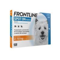 Caja 3 Pipetas Frontline 0,67 Ml para Perros
