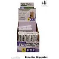 Expositor 30 Pipetas Piretron(Perros-15 Kg) A
