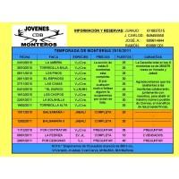Programa de Monterías Temporada 2010/2011