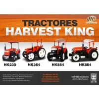 Tractores Harvest King (4X4) Cert. Ocima