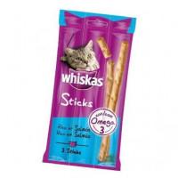 Whiskas Sticks Salmon (3U/18Gr) (X28)