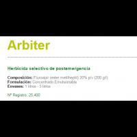 Arbiter Herbicida Selectivo de Postemergencia de Sipcam