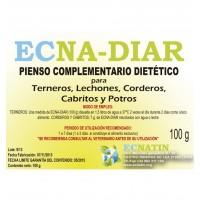 Ecna-Diar  Pienso Complementario Dietético para Terneros, Lechones, Corderos, Cabritos y Potros. Diarrea 10X100Gr