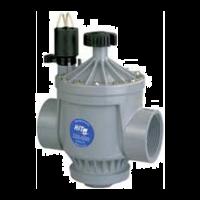 """Electroválvula PVC 2"""" 220-05B con Regulador de Caudal"""