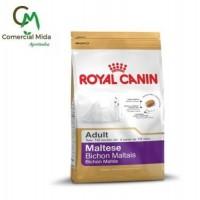 Pienso Royal Canin Maltese Adult 500Gr para Perros Adultos de Raza Bichón Maltés