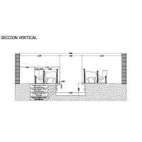 Sala de Ordeño de Ovejas Modelo Ov- 12 + 12/4 + 4/1200