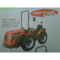 Tractor Agria Articulado 935 N