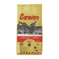 Carnívoro Cordero y Arroz 15 Kg