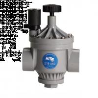 """Electroválvula PVC 1,5"""" 215-05B con Regulador de Caudal"""