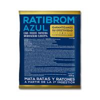 Ratibrom Azul, Cebo Fresco, Bolsita 100 Gr