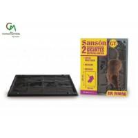 Sanson GT Trampas Adhesivas Gigantes Especiales para Ratas (2 Unidades)