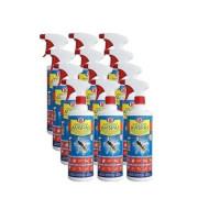 Spray Insecticida Tanzil 1L contra Insectos Voladores y Rastreros - Pack Ahorro 12 Unidades