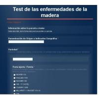 Test Gratuito para la Determinación del Grado de Afectación de las Enfermedades de la Madera en Vid