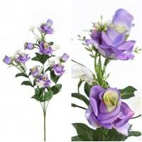 Vara Ramo Flor Rosa Artificial. Realista de T
