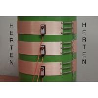 Cinturon Calefactor Herten para Calentamiento de Bidones de MIEL de 200 Litros