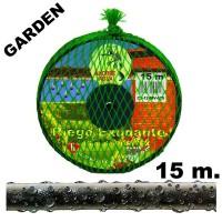 Manguera de Riego Exudante Poritex 15m por Presión (Malla Verde)