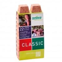 22 Macetas de Fibra de Coco Biodegradable. 10