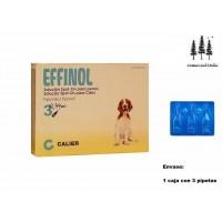 Caja 3 Pipetas Effinol 1,34Ml Pulgas Garrapatas Fipronil Perro Pipette 10-20 Kg