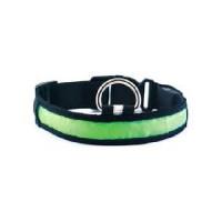 Collar LED Verde S