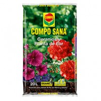 Compo SANA Geranios y Planta de Flor, Substrato de Compo